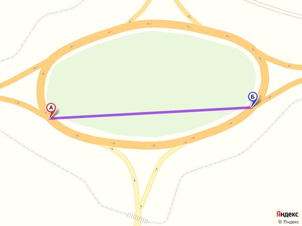 круговое движение 160м за 1мин