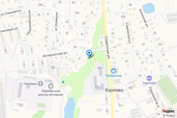 Гериатрический пансионат Хорлово по адресу: Бронницы,  ул. Зайцева,  смотри на карте