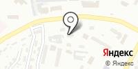 Братский на карте