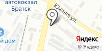 Государственная инспекция труда по Иркутской области в г. Братске на карте