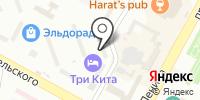 Галант на карте