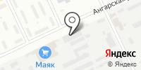 Меркурий на карте