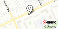 На остановке на карте