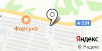 Медник на карте