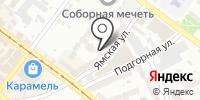 Кассандра на карте