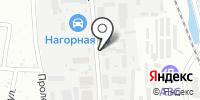 Амурская на карте