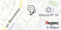 Майя на карте