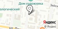 Главное управление Центрального банка РФ по Амурской области на карте