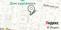 Санер на карте
