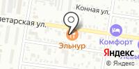 Эльнур на карте