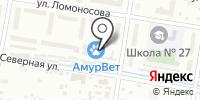 Дальневосточный научно-технический центр дорожных испытаний и исследований на карте