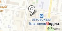 Воланс на карте