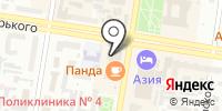Атлетика на карте