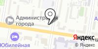 Певек на карте