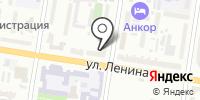 Зенит на карте