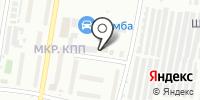 Элиш на карте