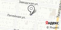Луноходик на карте