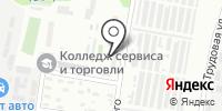 Фарватер на карте