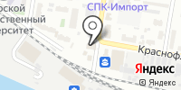 Визавик на карте