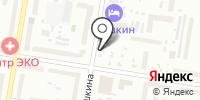 Малёк на карте