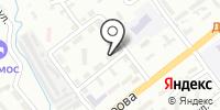 Серебряный ключ на карте