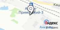 Анкувер на карте