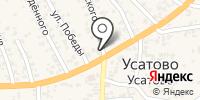 Лазурит на карте