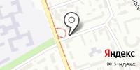 Автостоянка на Экономическом переулке на карте