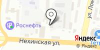 Новхол на карте