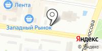 Милава на карте