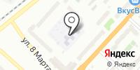 Детский сад №61 на карте