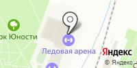 Ледовый дворец на карте