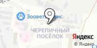 Дом автомобиля на карте