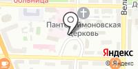 Физиотерапевтическая поликлиника на карте