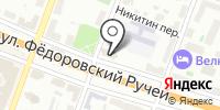 Церковь святого великомученика Федора Стратилата на Ручью на карте