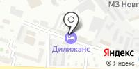 Маячок на карте