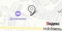 Лабприбор на карте