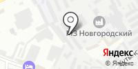 СТО на Хутынской на карте