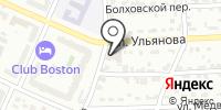 Инсталл на карте