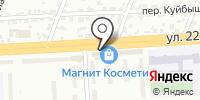 Магазин цветов на ул. 22 Съезда КПСС на карте