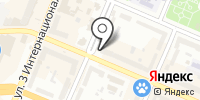 Каштан на карте