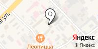 Гелиус на карте