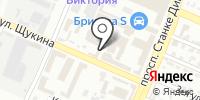 Советский эксплуатационный участок на карте