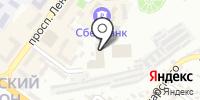 Сантана на карте