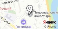 Петро-Павловский женский епархиальный монастырь на карте