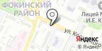 Нимфа на карте