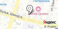 Рослесинфорг на карте