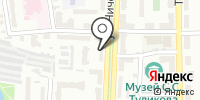 Водолей-М на карте