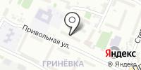Диана на карте