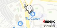 Сладик на карте